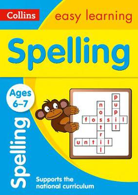 Picture of Spelling Ages 6-7: Prepare for school with easy home learning (Collins Easy Learning KS1)
