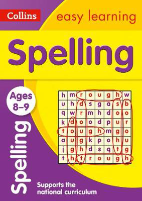 Picture of Spelling Ages 8-9: Prepare for school with easy home learning (Collins Easy Learning KS2)