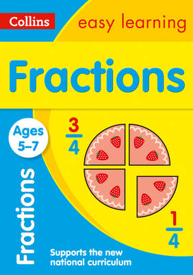Picture of Fractions Ages 5-7: Prepare for school with easy home learning (Collins Easy Learning KS1)