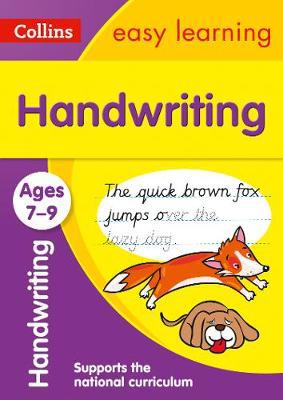 Picture of Handwriting Ages 7-9: Prepare for school with easy home learning (Collins Easy Learning KS2)