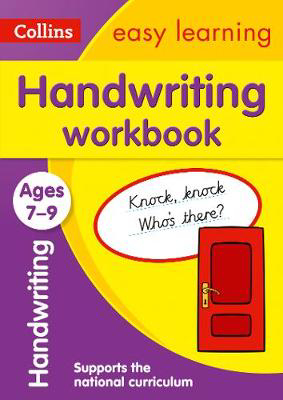 Picture of Handwriting Workbook Ages 7-9: Prepare for school with easy home learning (Collins Easy Learning KS2)