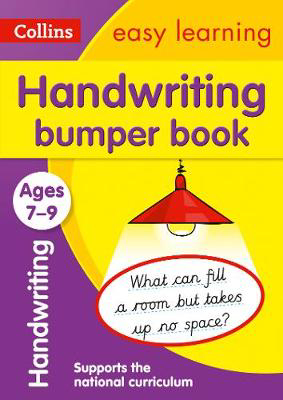 Picture of Handwriting Bumper Book Ages 7-9: Prepare for school with easy home learning (Collins Easy Learning KS2)