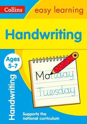 Picture of Handwriting Ages 5-7: Prepare for school with easy home learning (Collins Easy Learning KS1)