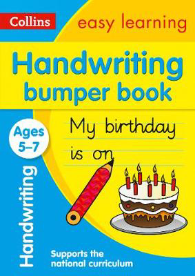 Picture of Handwriting Bumper Book Ages 5-7: Prepare for school with easy home learning (Collins Easy Learning KS1)