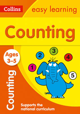 Picture of Counting Ages 3-5: Prepare for Preschool with easy home learning (Collins Easy Learning Preschool)