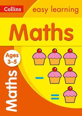 Picture of Maths Ages 3-5: Prepare for school with easy home learning (Collins Easy Learning Preschool)
