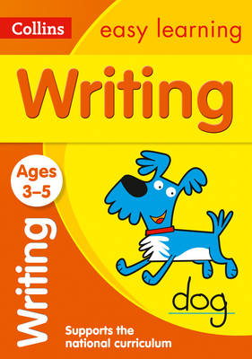 Picture of Writing Ages 3-5: Prepare for Preschool with easy home learning (Collins Easy Learning Preschool)