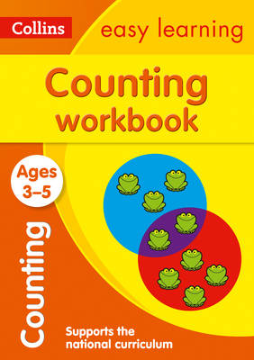 Picture of Counting Workbook Ages 3-5: Prepare for Preschool with easy home learning (Collins Easy Learning Preschool)