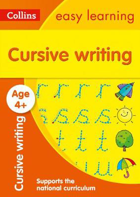Picture of Cursive Writing Ages 4-5: Prepare for school with easy home learning (Collins Easy Learning Preschool)