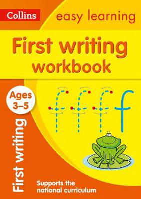 Picture of First Writing Workbook Ages 3-5: Prepare for Preschool with easy home learning (Collins Easy Learning Preschool)