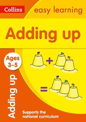 Picture of Adding Up Ages 3-5: Prepare for Preschool with easy home learning (Collins Easy Learning Preschool)