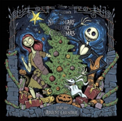 Picture of Tim Burton's The Nightmare Before Christmas Pop-Up Book and Advent Calendar
