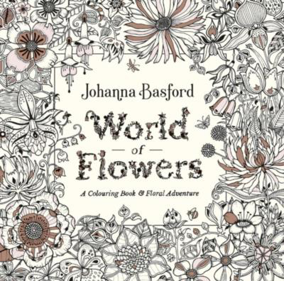 Picture of World of Flowers: A Colouring Book and Floral Adventure