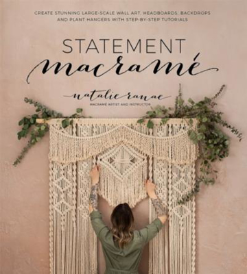Picture of Statement Macrame: Create Stunning Large-Scale Wall Art, Headboards, Backdrops and Plant Hangers with Step-by-Step Tutorials