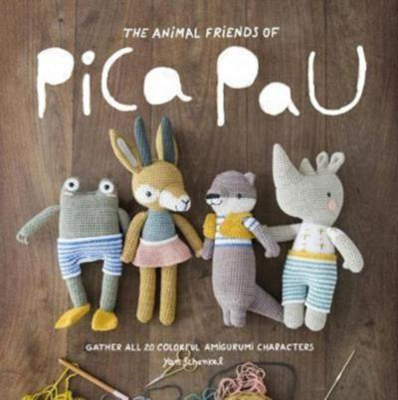 Picture of Animal Friends of Pica Pau: Gather All 20 Colorful Amigurumi Animal Characters