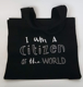 Picture of Black Canvas Tote Bag