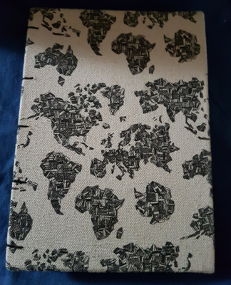 Picture of Cloth-bound Notebook