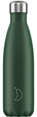 Picture of Chillys Water Bottle Matte Green - Festival Logo