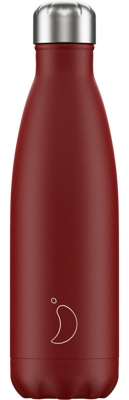 Picture of Chillys Water Bottle Matte Red - Festival Logo