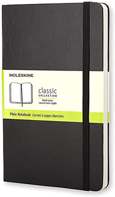 Picture of Black Plain Moleskine - Limited Edition Edinburgh International Book Festival Logo Edition