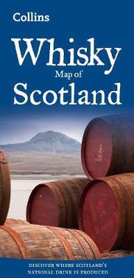 Picture of Whisky Map of Scotland: Discover where Scotland's national drink is produced (Collins Pictorial Maps)