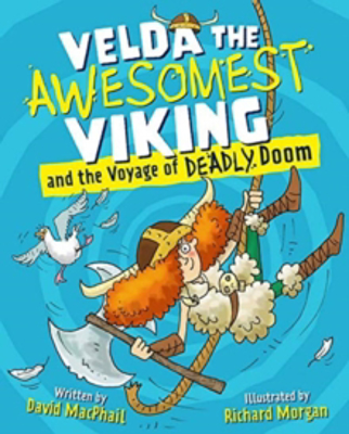 Picture of Velda the Awesomest Viking and the Voyage of Deadly Doom