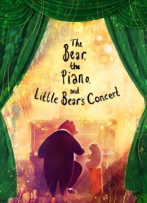 Picture of The Bear, the Piano and Little Bear's Concert
