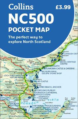 Picture of NC500 Pocket Map: The perfect way to explore North Scotland