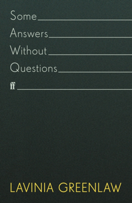 Picture of Some Answers Without Questions