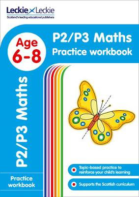 Picture of P2/P3 Maths Practice Workbook: Extra Practice for CfE Primary School English (Leckie Primary Success)