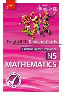 Picture of National 5 Maths Revision Cards