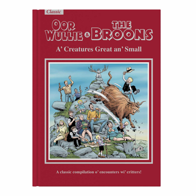 Picture of The Broons & Oor Wullie Giftbook 2022: A' Creatures Great an' Small